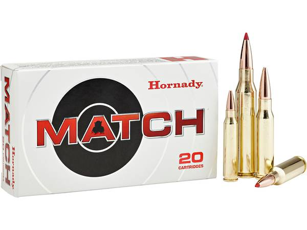 Hornady Match 6mm Creedmoor 108gr x20 #81391