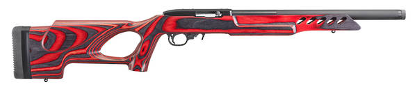 Ruger 10/22 Target Lite Red Laminate Thumbhole 21185