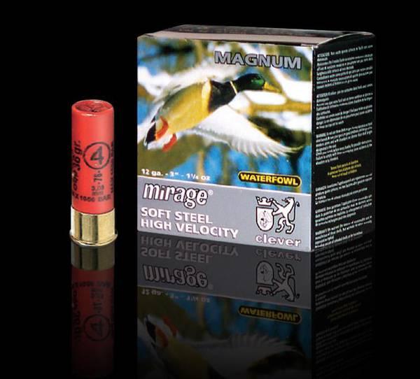 "SLAB/250 12ga Clever Mirage Magnum Soft Steel T4 3"" 36 gram #4"