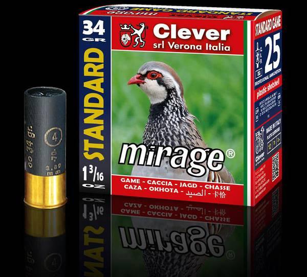 PKT/25 12ga Clever Mirage T2 Standard Game 34 gram #3