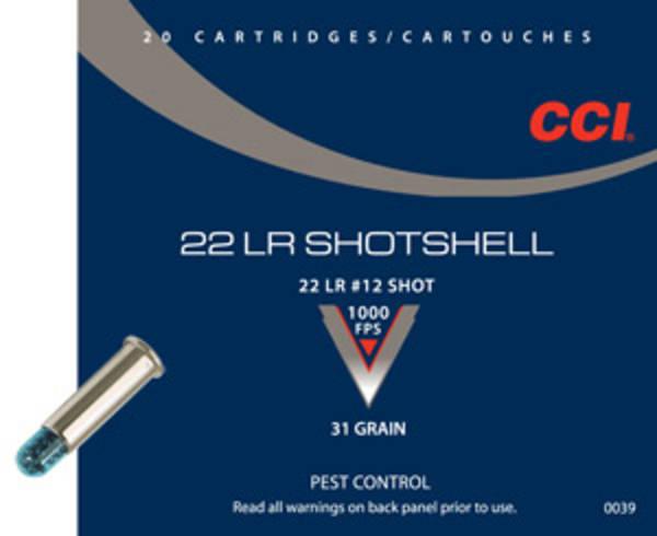 CCI 22LR Shotshell 20 Rounds