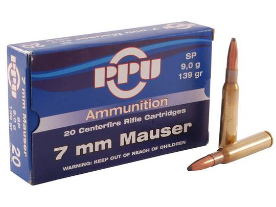 PPU 7x57 Mauser 139gr SP x20