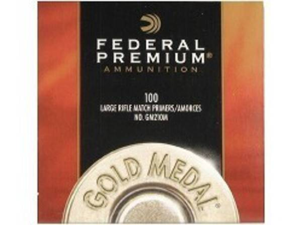 Federal Large Rifle Match Primers GM210M x1000