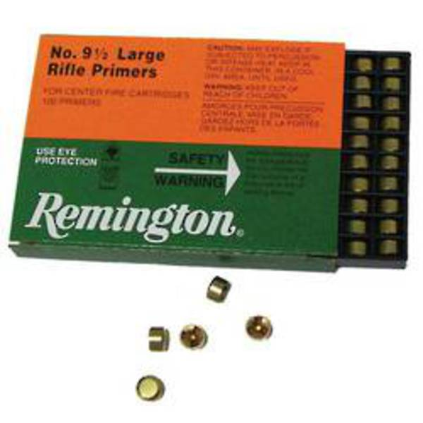 Remington Large Rifle Primers 9 1/2 x1000