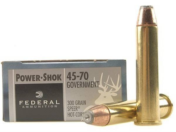 Federal Power Shok 45-70 300gr SP x20