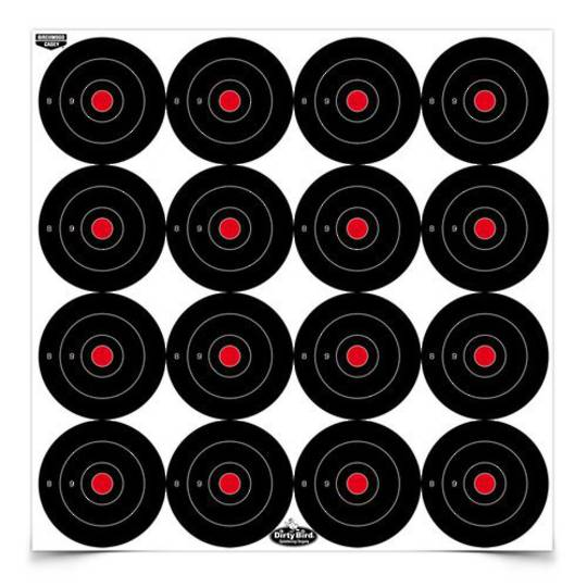 "Birchwood Casey Dirty Bird 3"" Splattering Targets x12 Sheets"