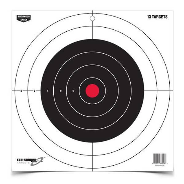 """Birchwood Casey EZE-Scorer 12"""" Bull's-Eye Paper Target #37013"""