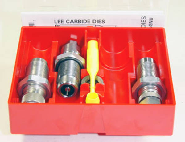Lee Pistol 3 Die Set 45ACP Carbide #90513