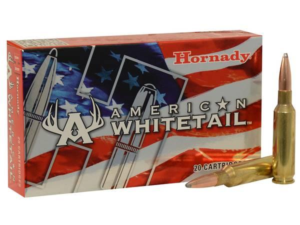 Hornady American Whitetale 6.5 Creedmoor 129gr SP x20 #81489