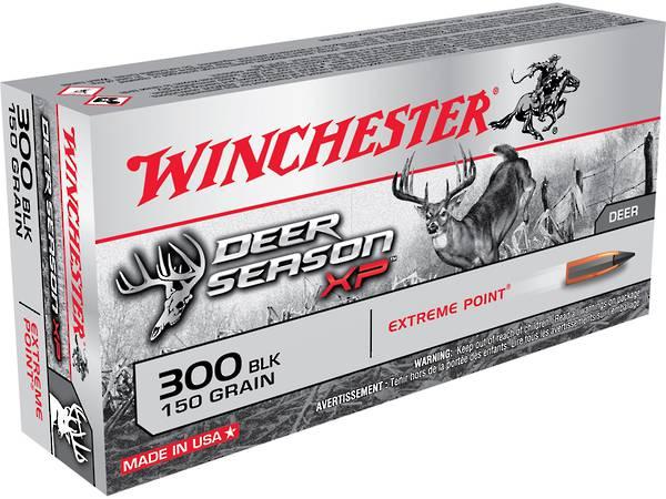 Winchester 300 BLACKOUT Deer Season 150gr