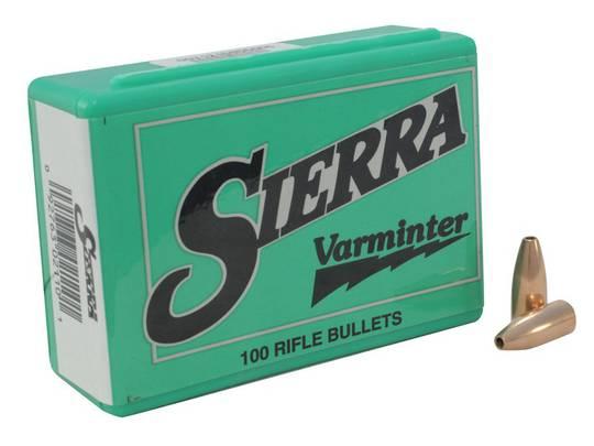 Sierra 30cal Varminter 110gr HP x100 #2110