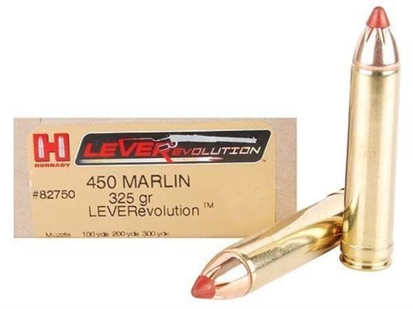 Hornady 450 Marlin 325gr FTX Ammo 20 Rnds #82750