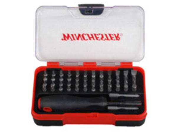 The Winchester 51-Piece Gunsmith Screwdriver Set