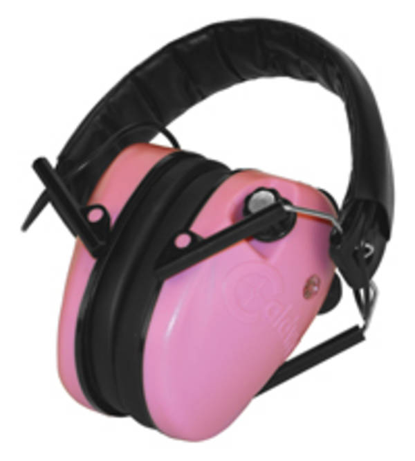 Caldwell E-Max Low Profile Pink Ear Muffs