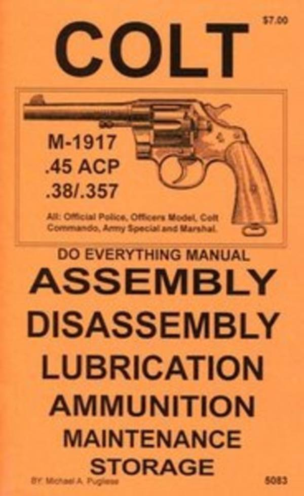 Do Everything Manual For Colt M-1917