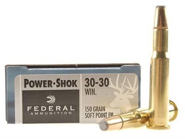 Federal Power Shok 30-30Win 150gr x20 3030A