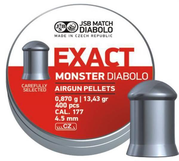 JSB Exact Monster Diabolo  .177 13.43 grain 400pcs