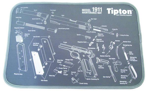 Tipton 1911 Maintenance Mat