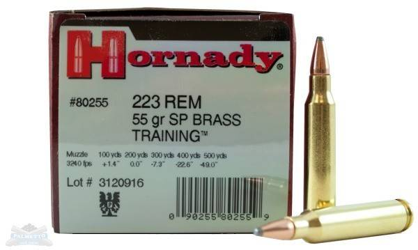 Hornady 223 Remington 55gr SP 50 Rounds #80255