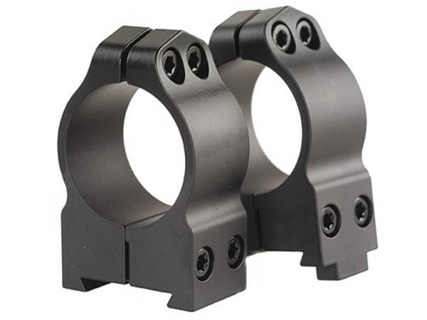 Warne Maxima Steel rings CZ550 30mm High #15B1M