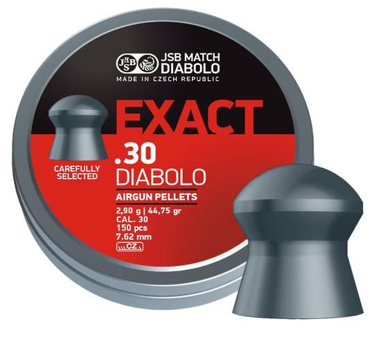 JSB Exact 30cal Diablo 50.15gr x150