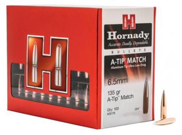 Hornady A-Tip 6mm 110gr Match x100 #24531