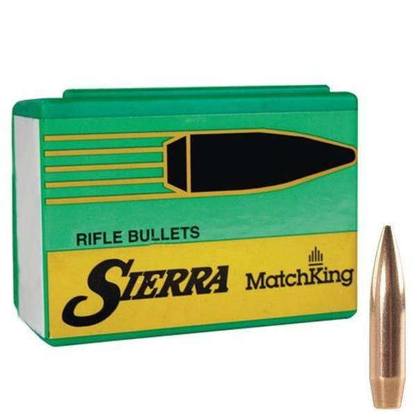 Sierra 22 cal .224 dia 77gr HPBT Match 9377T 50 Projectiles
