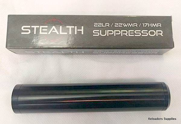 Stealth Rimfire Suppressor .22LR/17HMR/22WMR  1/2x20