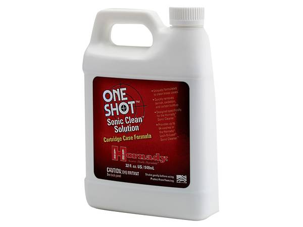 Hornady Sonic Brass Case Cleaning Solution #43355