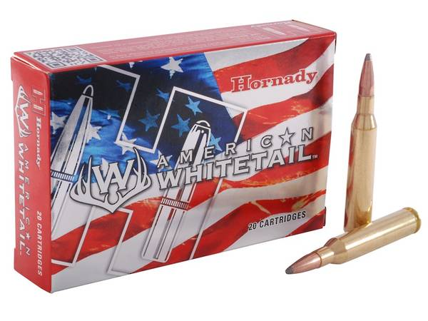 Hornady American Whitetail ammo 25-06 Rem 117gr #8144