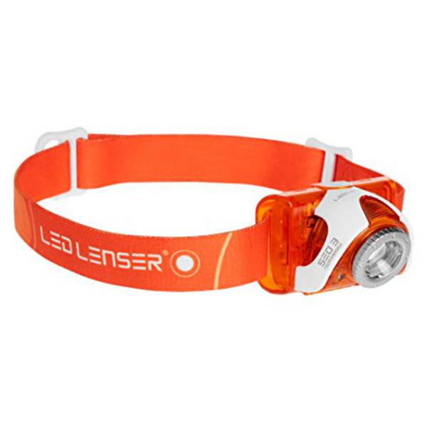 LED Lenser SEO3 Headlamp Orange