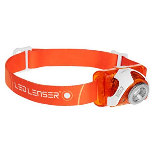 LED Lenser SEO3 Headlamp Orange