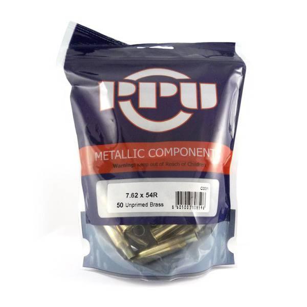 PPU Brass 7.62x54R x50