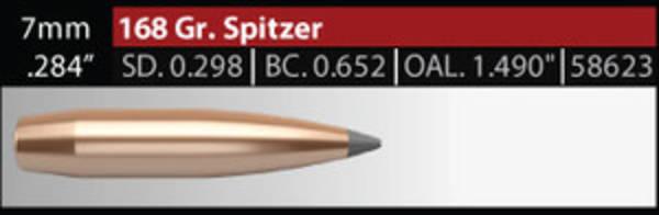 Nosler Accubond Long Range 7mm 168gr