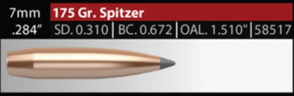 Nosler Accubond Long Range 7mm 175 grain