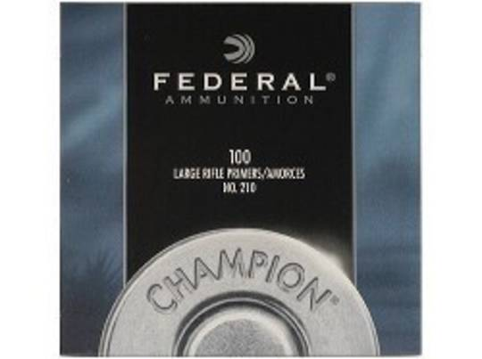 Federal Large Rifle Primers No 210 1000