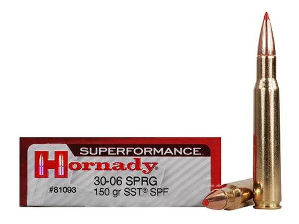 Hornady Superformance 30-06 Springfield 150gr SST #81093
