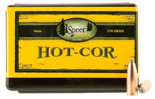 Speer Hot-Cor 8mm 170grain 2283