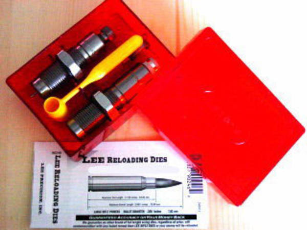 Lee Limited Production 2 Die Set 204 Ruger 90417