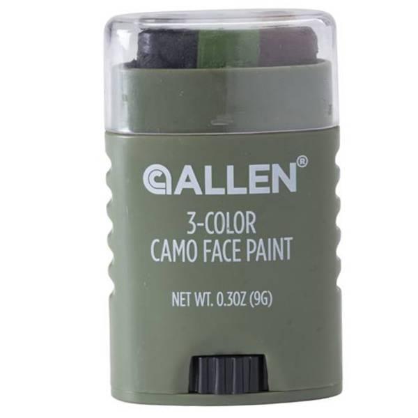 Allen Camo Face Paint 3 Colours