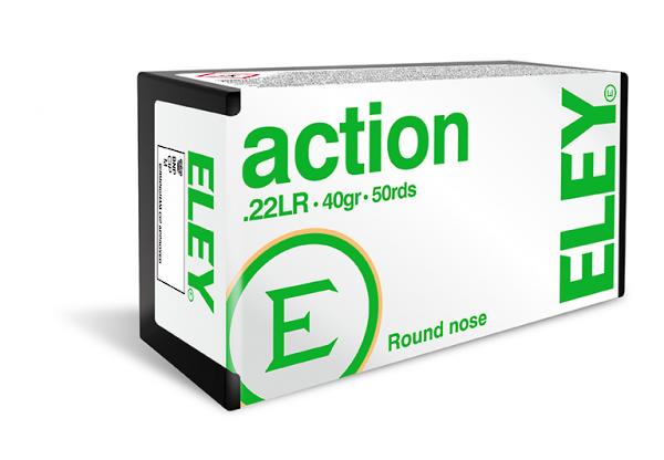 Eley Action 22LR 40gr x500