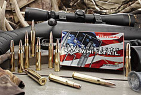 Hornady American Whitetail Ammo 308 150gr #8090