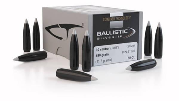 Nosler Ballistic Silver Tip 30cal 180gr x50  #51180