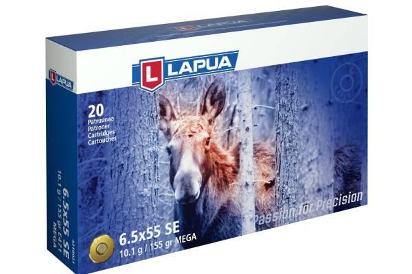 Lapua 6.5x55 155gr SP Mega x20 #4316021