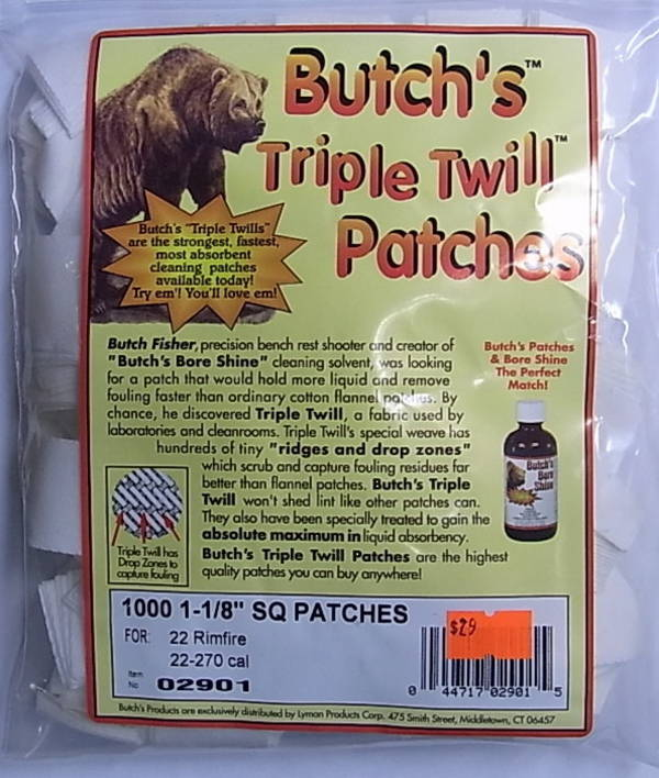 """Butchs Patches 2 1/4"""" Square"""