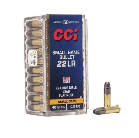 CCI SGB 22LR 40gr x50