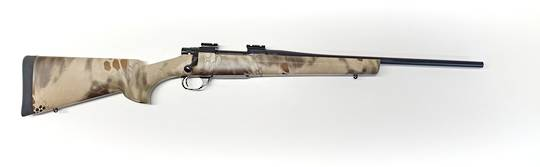 """Howa 1500 308 Win 20"""" Lightweight Blued with Kryptec Camo stock (Ex Demo)"""