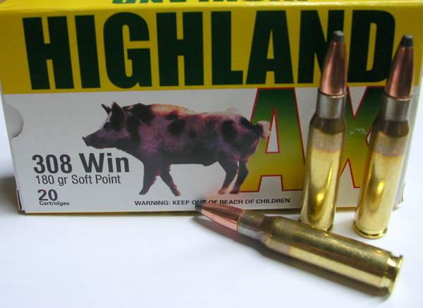 Highland AX 7mm08 140gr SP