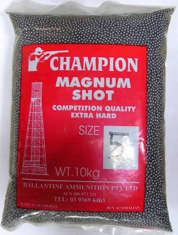 Champion Magnum Lead Shot 10kg #7 Shot