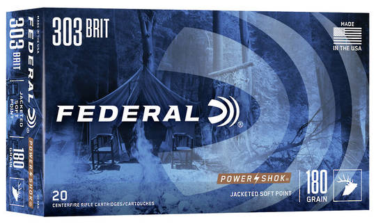 Federal Power Shok 303 British 180gr 303AS